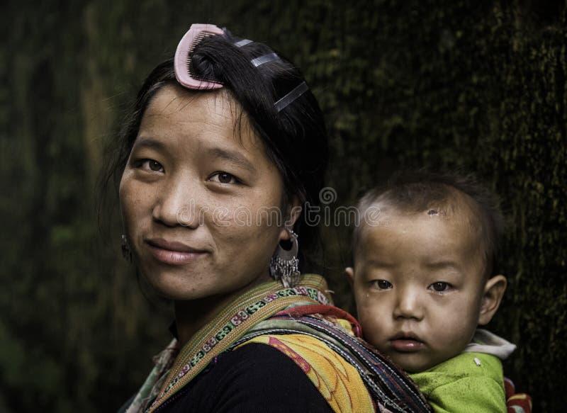 Portret Wietnam obrazy royalty free