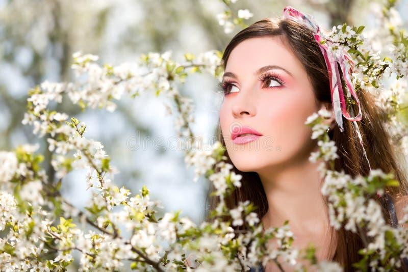 portret wiosna fotografia stock