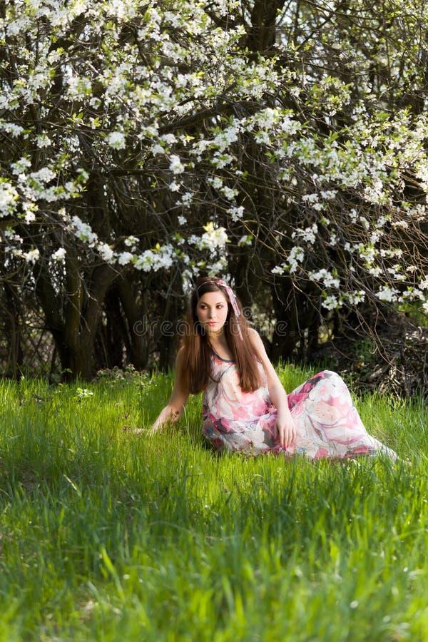 portret wiosna obrazy stock
