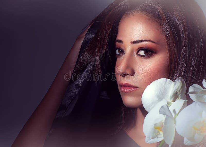 portret wspaniała kobieta zdjęcie stock