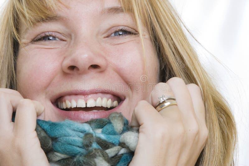 portret zima obraz royalty free