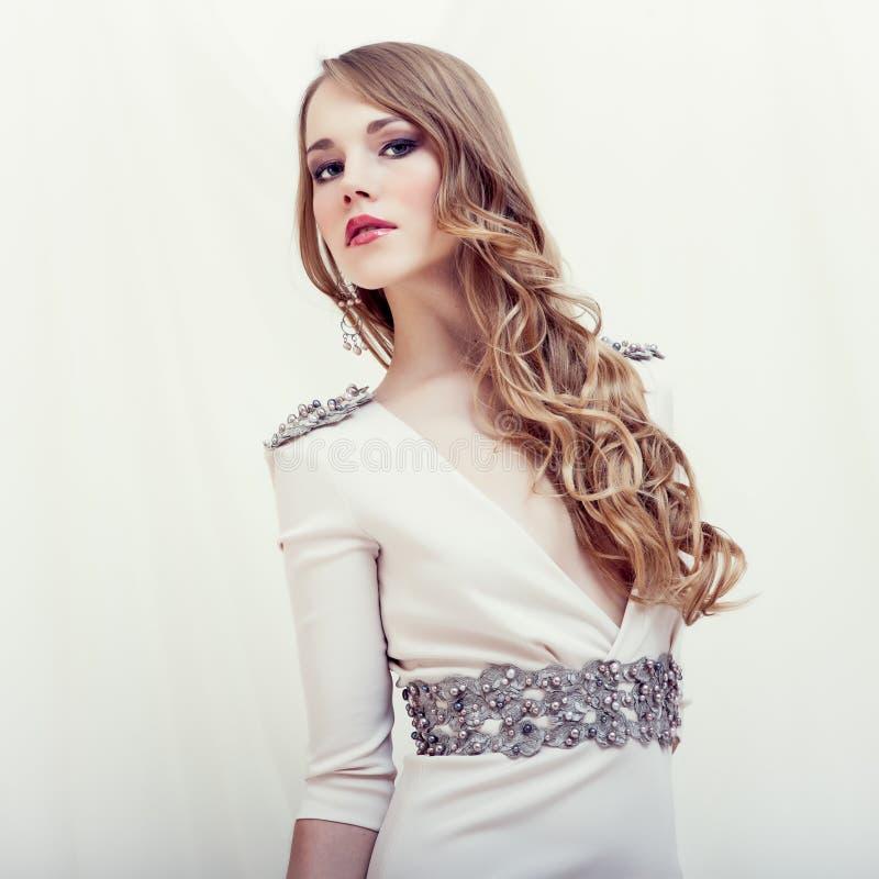 Portret zmysłowa dziewczyna fotografia royalty free