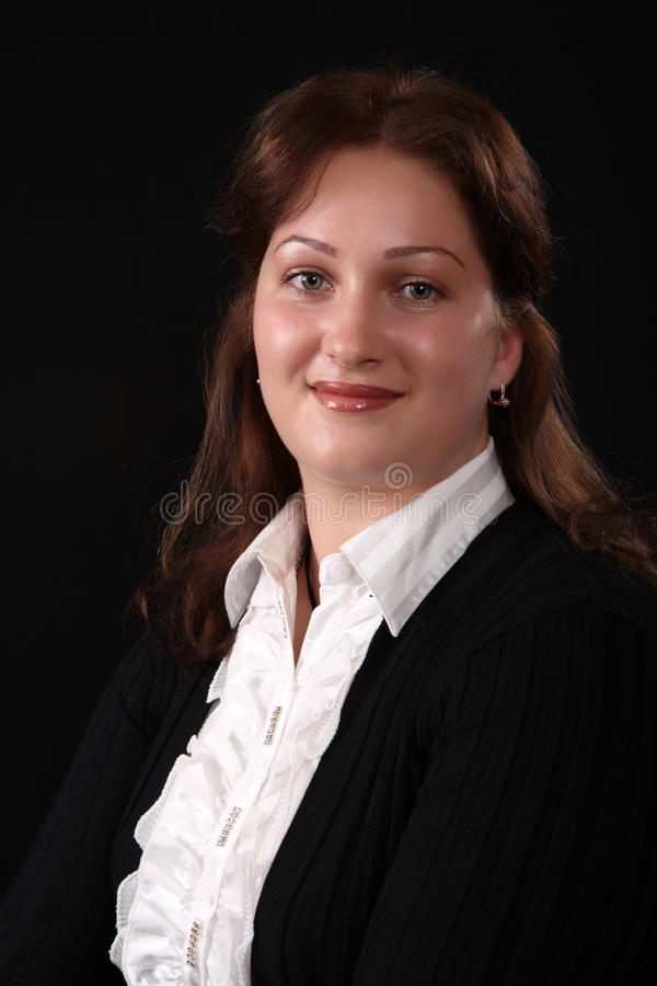 portreta kobiety potomstwa zdjęcie royalty free
