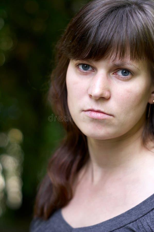 portreta kobiety potomstwa zdjęcia stock