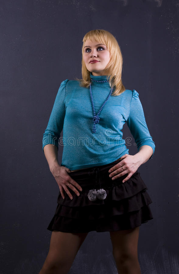 Download Portreta kobiety potomstwa zdjęcie stock. Obraz złożonej z potomstwa - 13336874