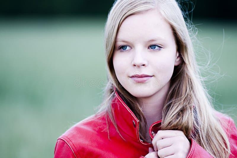 portreta nastolatek obraz stock