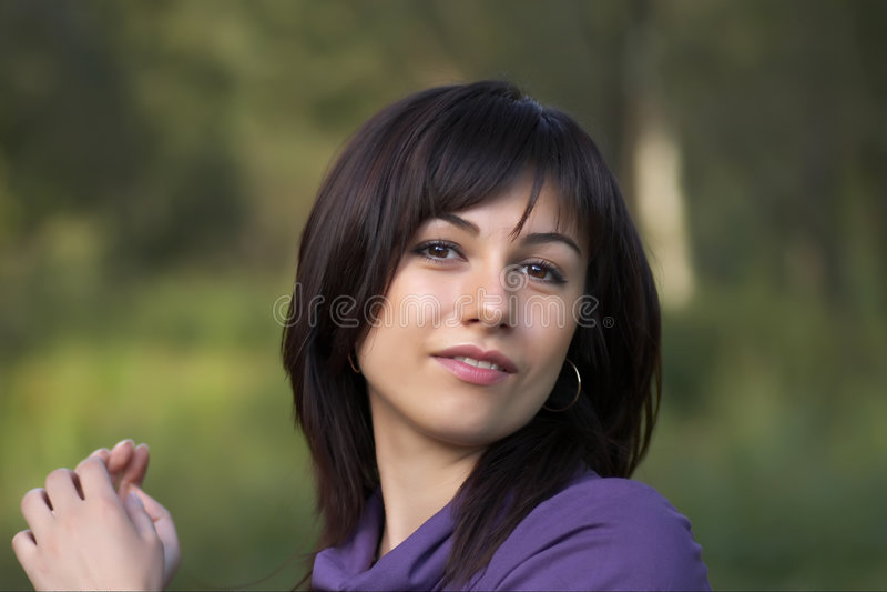portreta nastolatek zdjęcie stock