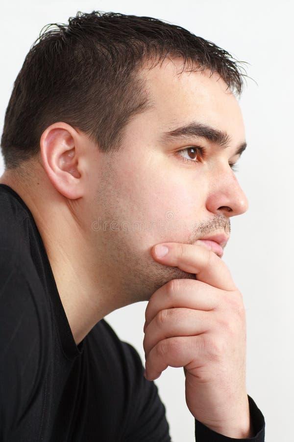portreta profil obrazy stock