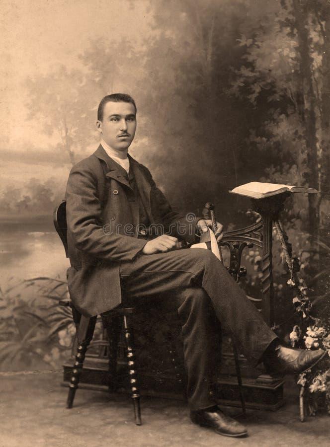 portreta rosjanina rocznik obrazy stock