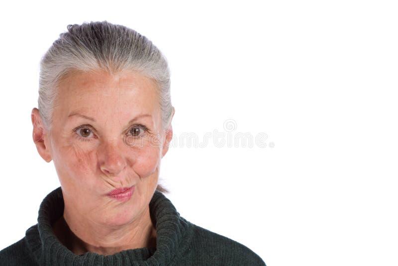 portreta senior obraz stock