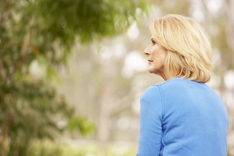 portreta seniora kobieta obraz stock