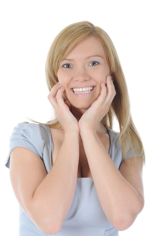 portreta uśmiechnięci kobiety potomstwa zdjęcie royalty free