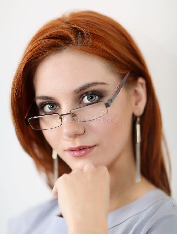 Portriat молодой женщины стоковая фотография rf