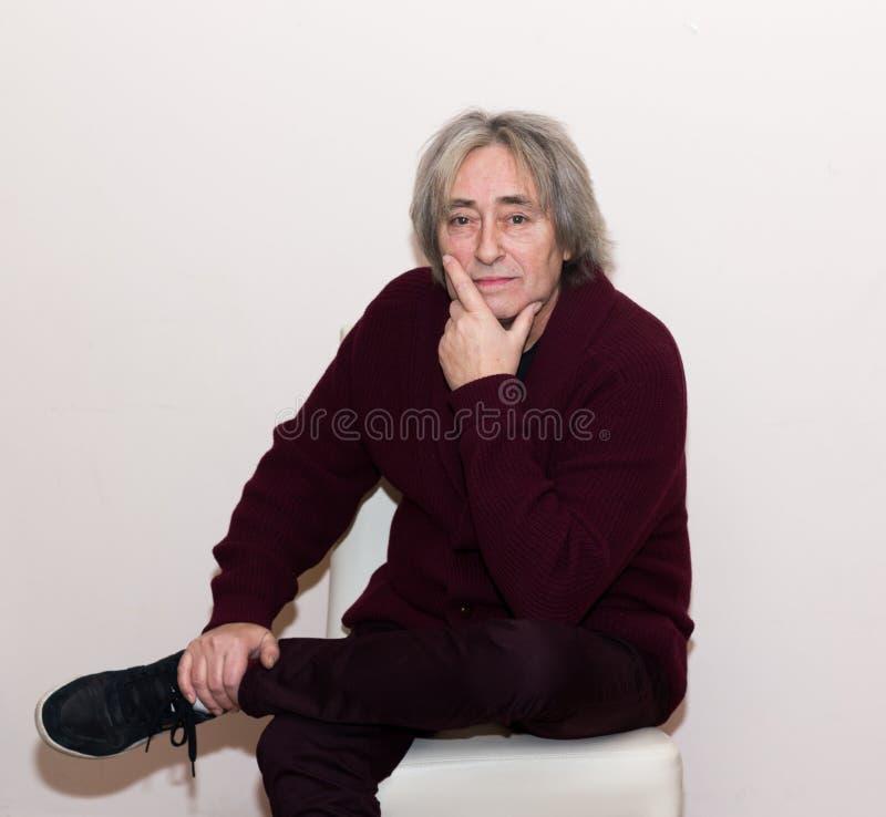 Portriat dell'uomo senior immagine stock libera da diritti