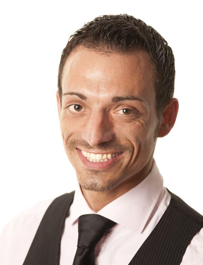 Portriat des jungen Geschäftsmannes stockbilder