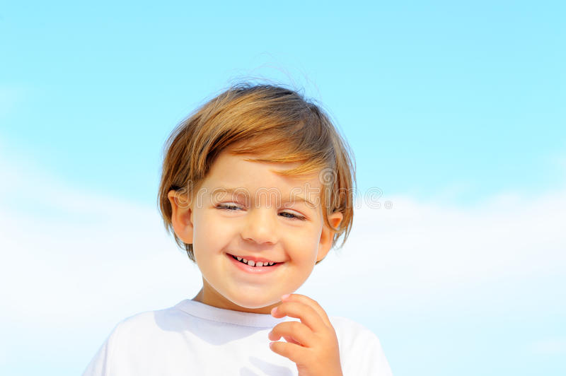 Download Portriat Of Lovely Little Girl Stock Photo - Image: 27438306