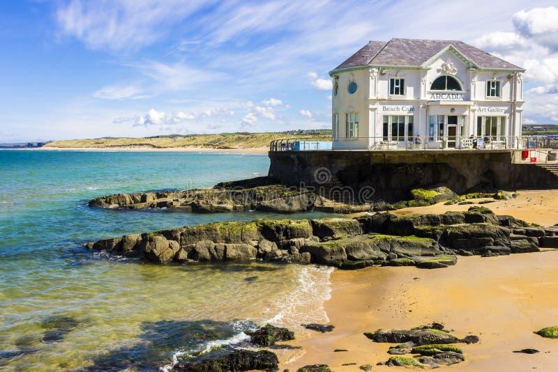 Portrush,北爱尔兰 免版税图库摄影
