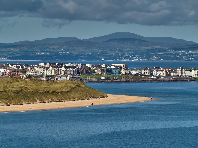 Portrush, Irlanda del Norte fotografía de archivo