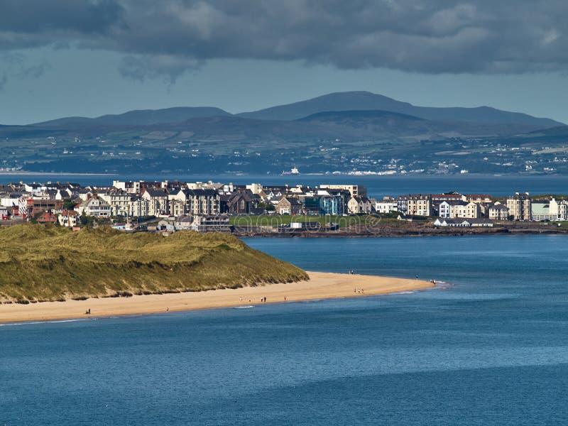 Portrush, Irlanda do Norte fotografia de stock