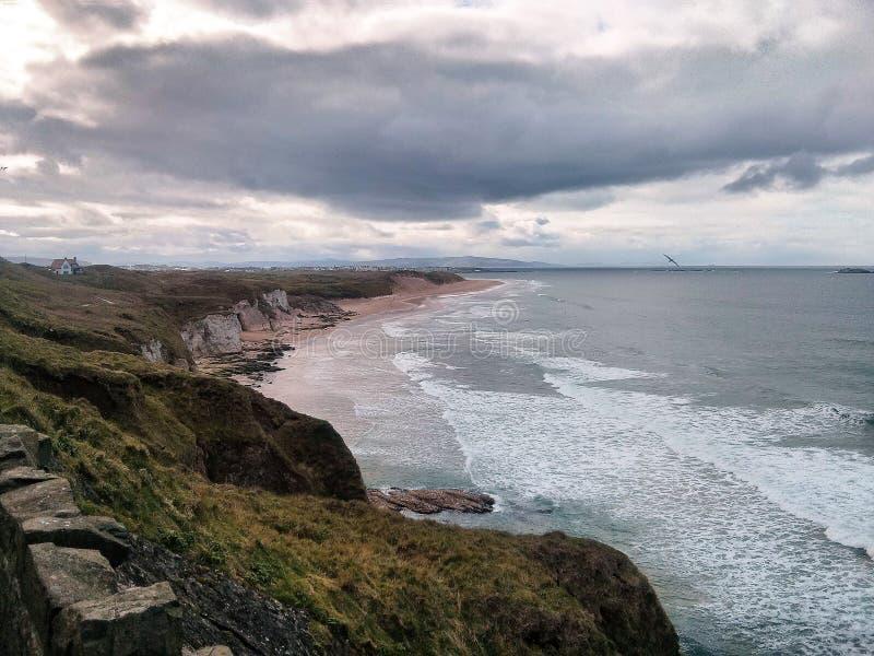 Portrush, Irlandia zdjęcie royalty free