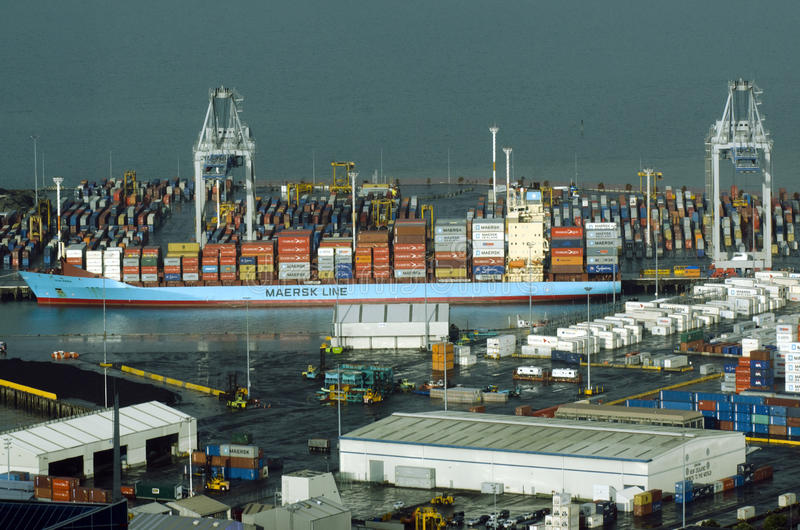 Download Ports Of Auckland In Auckland New Zealand NZ Editorial Stock Image - Image: 34412154