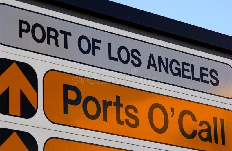 Ports o'call royalty free stock photos