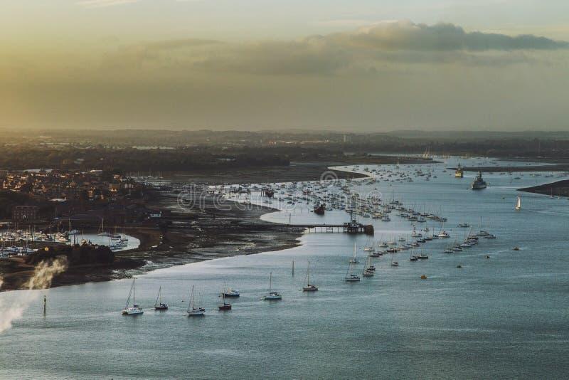 portsmouth стоковое изображение rf