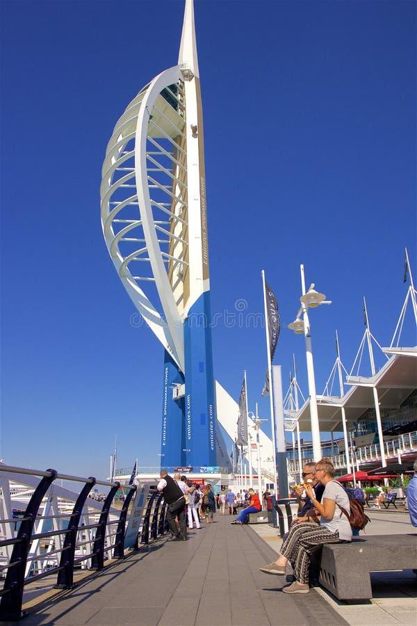 Portsmouth, Engeland stock foto's