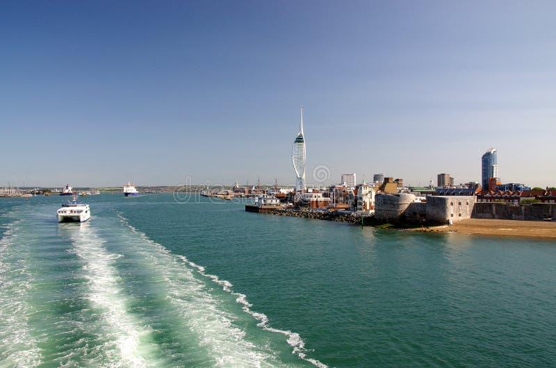 Portsmouth (Engeland) stock afbeelding