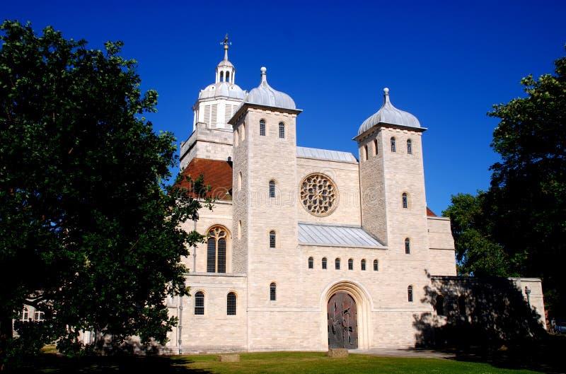 Portsmouth, Engeland: St. Thomas Church royalty-vrije stock foto's