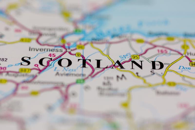 Scozia Cartina Dettagliata.529 Mappa Della Scozia Foto Foto Stock Gratis E Royalty Free Da Dreamstime