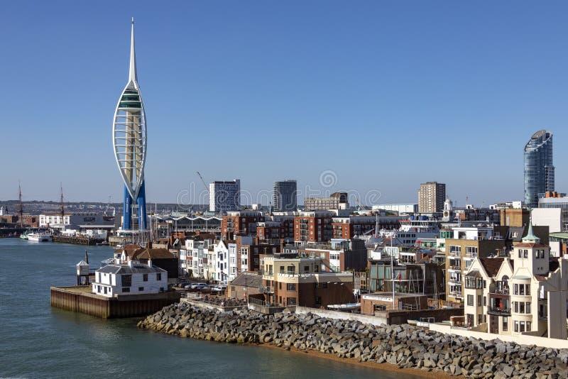 Portsmouth - il Regno Unito fotografie stock libere da diritti