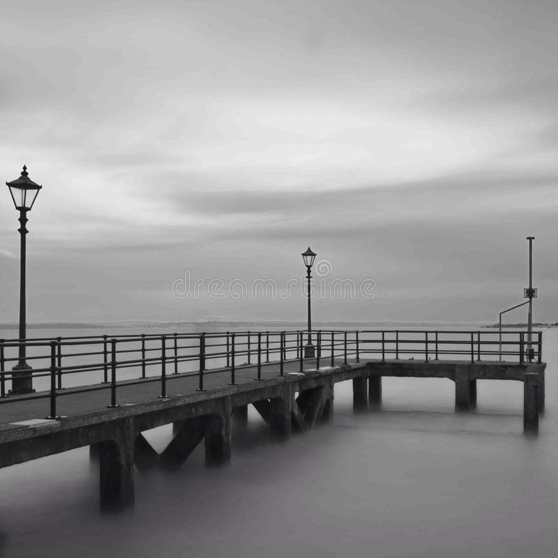 Portsmouth molo zdjęcie royalty free