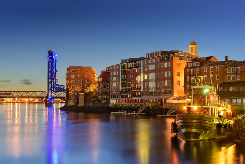 Portsmouth, New Hampshire stock afbeelding