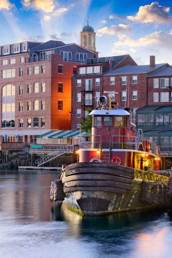 Portsmouth, New Hampshire immagine stock libera da diritti