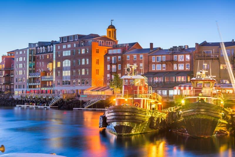 Portsmouth, New Hampshire, U.S.A. fotografia stock libera da diritti