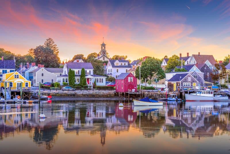 Portsmouth, New Hampshire, USA stock image