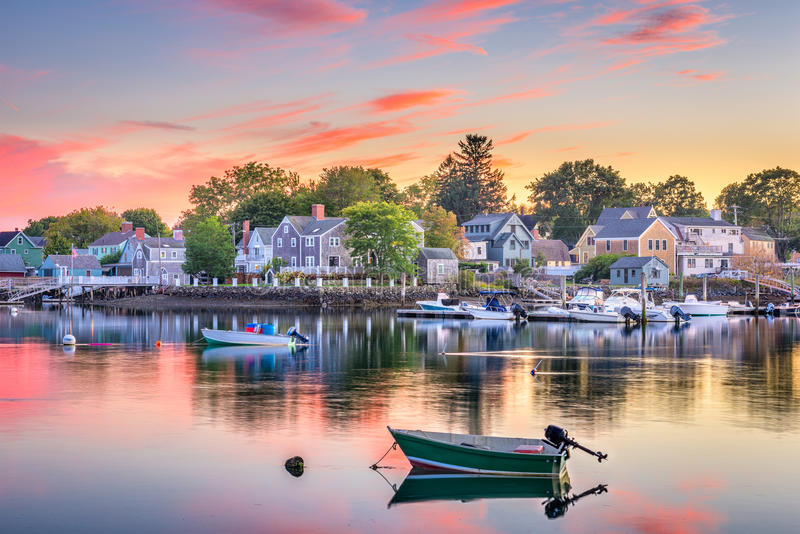 Portsmouth, New Hampshire, USA royalty free stock images