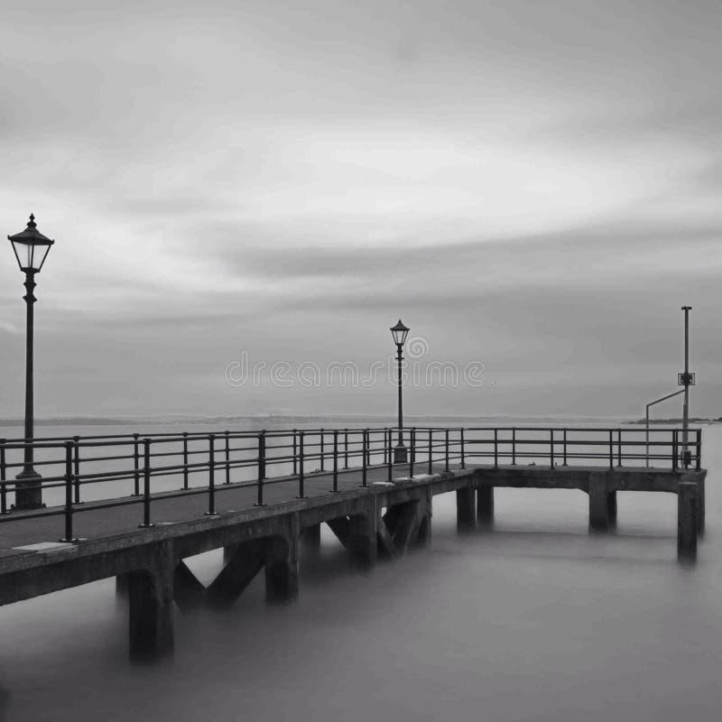 Portsmouth-Pier lizenzfreies stockfoto