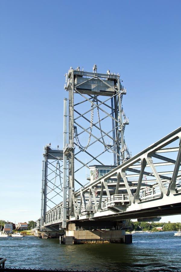 Portsmouth, ponte di New Hampshire immagini stock libere da diritti