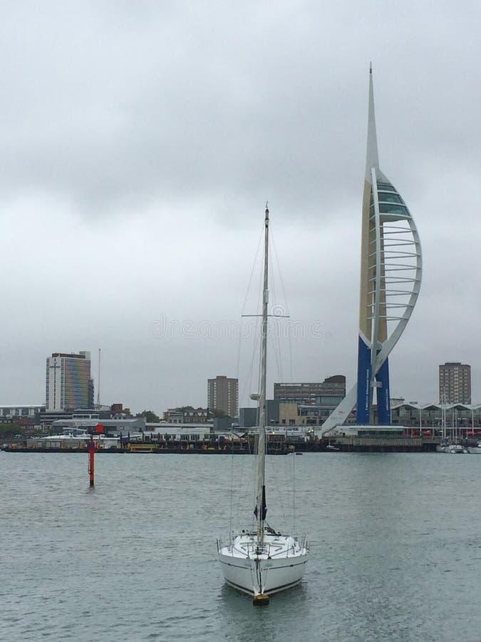 Portsmouth varvtorn arkivbild