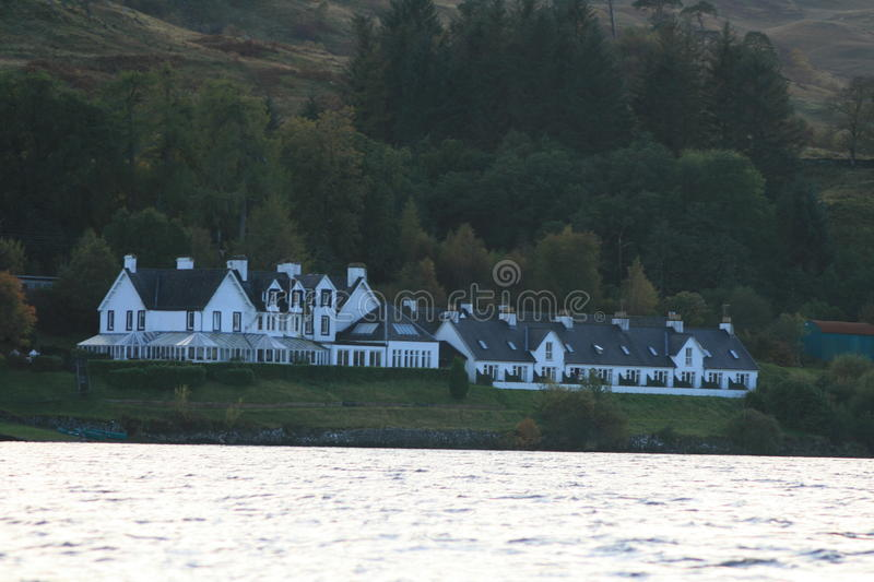 Portsonachan Hotel, Loch Awe, Scotland 2012 royalty free stock images