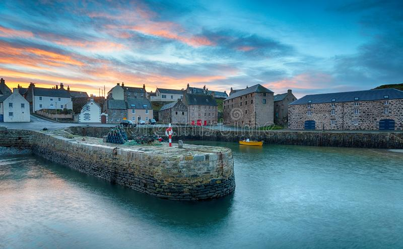 Portsoy dans Aberdeenshire photos libres de droits