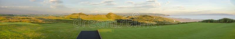 Portstewart高尔夫俱乐部 库存图片