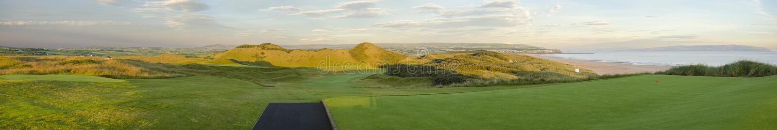 Portstewart Golf Club arkivbilder