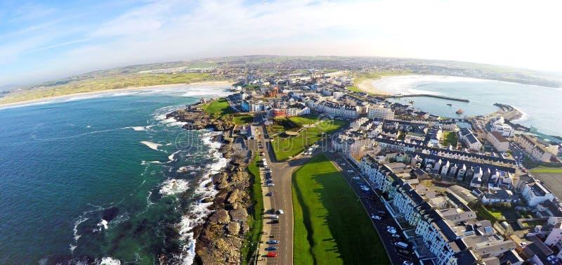 Portstrush Co Nordliga Antrim - Irland arkivfoton