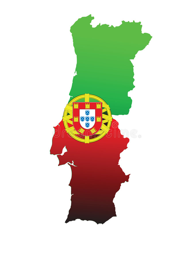 portugal stock illustrationer