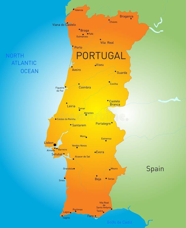 portugal ilustración del vector