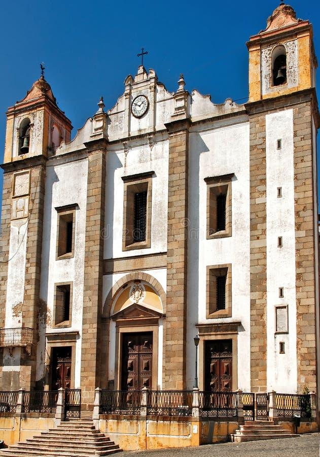 Portugal, Alentejo, Evora: St Antao Church royalty free stock photo