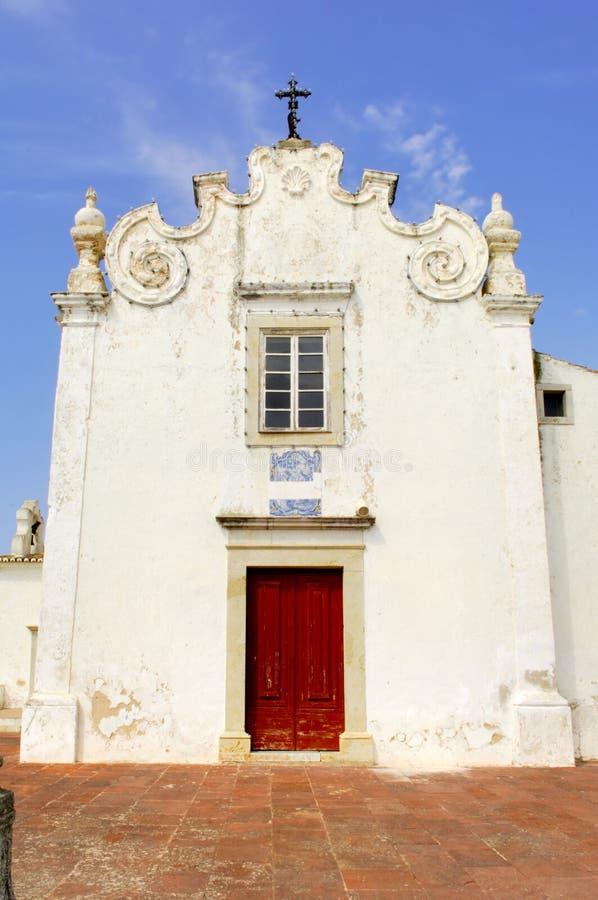 Portugal, Algarve, Albufeira: Kerk royalty-vrije stock afbeeldingen
